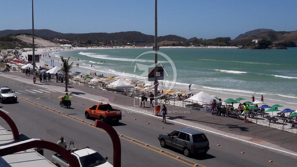 Cobertura com vista para a Praia do Forte